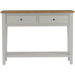 Charltons Furniture Charltons Somerdale Oak 2 Drawer Console Table