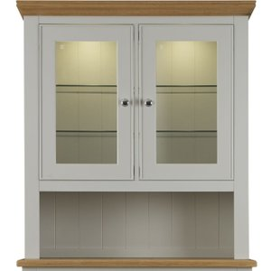 Charltons Furniture Charltons Somerdale Oak Narrow 2 Door Sideboard Top