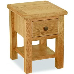 Clearance - Global Home Cork Lite Oak Lamp Table With Wooden Handle With Bolt - New - Fss9