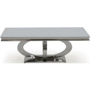 Clearance - Vida Living Orion White Glass Coffee Table - New - E-649