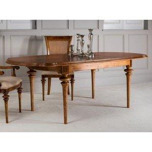 Clearance Half Price - Frank Hudson Spire Oval Extending Dining Table - Walnut - New - Fs0, Walnut