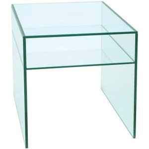 Clearance Half Price - Greenapple Pure Glass Lamp Table - New - T024