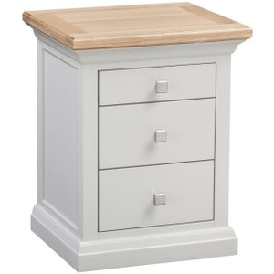 Clearance Half Price - Homestyle Gb Cotswold Painted Bedside Cabinet - New - Fs00105, Painted