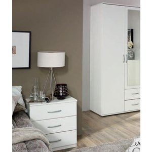 Clearance Half Price - Rauch Simply4you 3 Drawer Bedside Cabinet - New - Fs081