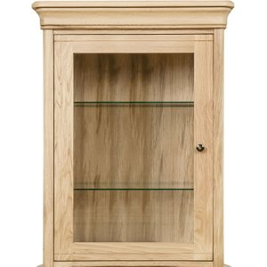 Clemence Richard Moreno Oak 1 Door Narrow Sideboard Top