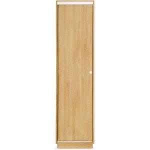 Clemence Richard Portofino Oak 1 Door Wardrobe