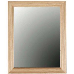 Clemence Richard Sorento Oak Rectangular Mirror - 80cm X 100cm