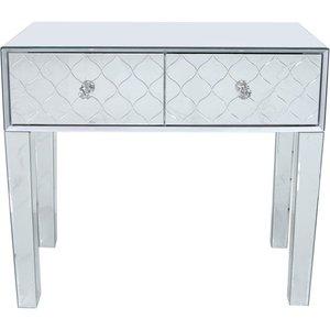 Deco Home Colorado Mirrored Console Table