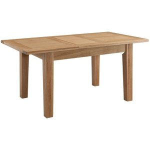 Classic Furniture Colorado Oak Small Extending Dining Table, Satin Lacquered