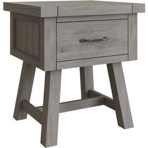 Scuttle Interiors Coniston Grey Oak 1 Drawer Lamp Table