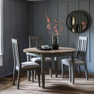 Gallery Direct Gallery Cookham Grey Round Extending Dining Table