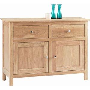 Corndell Nimbus Satin Oak Small Sideboard, Satin