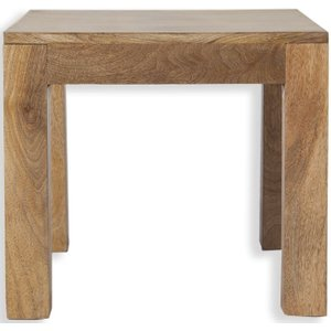 Indian Furniture Company Cuban Petite Mango Wood Lamp Table