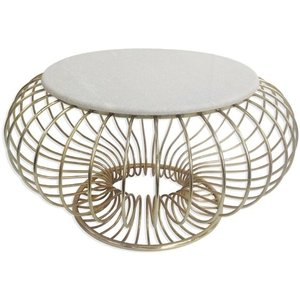 Culinary Concepts London Culinary Concepts Gold Solar Marble Coffee Table