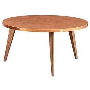Minturk Darwen Walnut Large Round Coffee Table