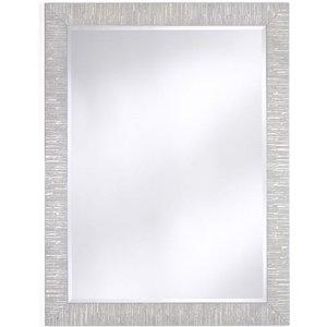Deknudt Mirrors Deknudt Toledo Silver Large Hall Mirror, Silver