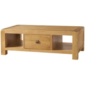 Devonshire Pine and Oak Devonshire Avon Oak Storage Coffee Table