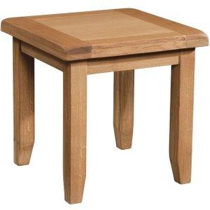 Devonshire Pine And Oak Devonshire Somerset Oak Lamp Table, Wax