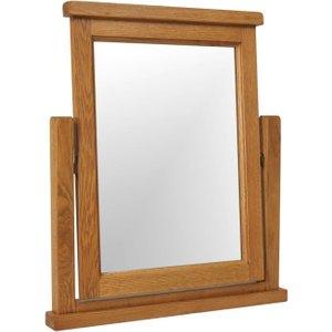Devonshire Pine and Oak Devonshire Somerset Oak Mirror, Wax