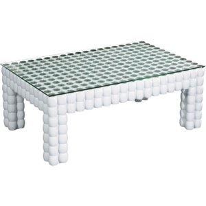 Premier Housewares Diva White Coffee Table, White