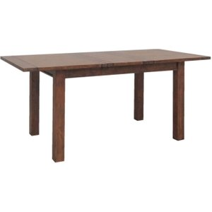 Classic Furniture Driftwood Reclaimed Pine Small Extending Dining Table, Antique Wax
