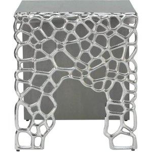 Deco Home Emmaus Grey End Table, Grey
