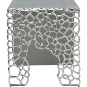Deco Home Emmaus Grey Large End Table, Grey