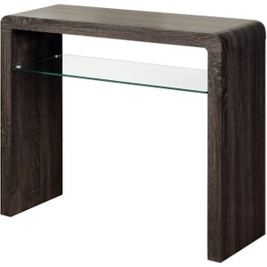 Annaghmore Encore Charcoal Small Console Table Brown