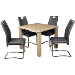 Annaghmore Encore Sonoma Oak Square Dining Table, Oak