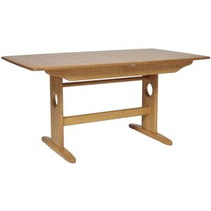 Ercol Windsor Extending Dining Table, Lacquered