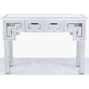 Deco Home Essen Silver Trim Mirrored Console Table