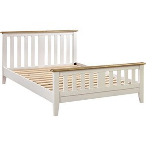 Indian Furniture Company Farmhouse Painted Double Bed Sb006