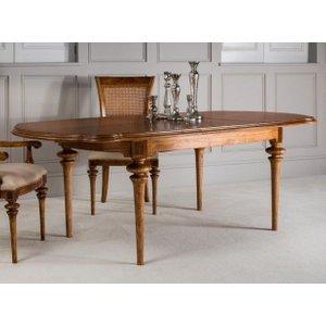 Frank Hudson Spire Oval Extending Dining Table - Walnut, Walnut