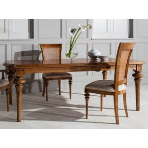 Frank Hudson Spire Rectangular Extending Dining Table - Walnut, Walnut