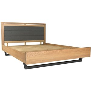 Classic Furniture Fusion Oak Upholstered Bed