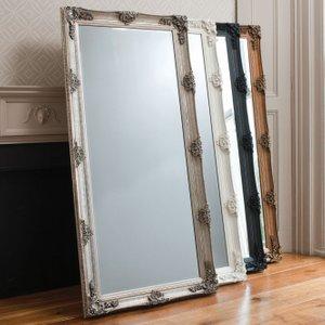 Gallery Direct Abbey Leaner Rectangular Mirror - 79.5cm X 165cm
