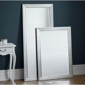 Gallery Direct Ainswort Leaner Rectangular Mirror - Silver 65cm X 153.5cm, Silver
