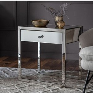 Gallery Direct Cutler Mirrored Side Table