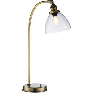 Gallery Direct Hansen Antique Brass Table Lamp