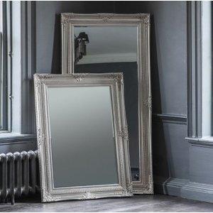 Gallery Direct Harrow Leaner Rectangular Mirror - Bright Silver 85cm X 171.5cm, Bright Silver