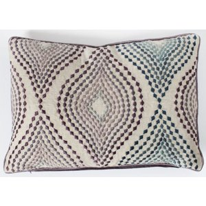 Gallery Direct Langdale Embroidered Cushion (set Of 2) - 30cm X 50cm