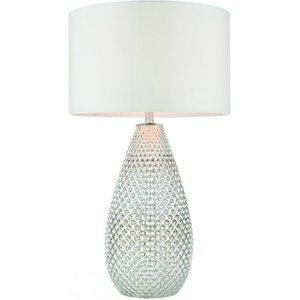 Gallery Direct Livia Table Lamp - Silver Mercury