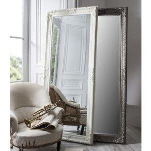 Gallery Direct Pembridge Antique Silver Rectangular Mirror - 81.5cm X 190cm, Antique Silver
