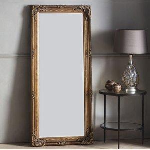 Gallery Direct Rushden Leaner Rectangular Mirror - Bronze 67cm X 156cm, Bronze