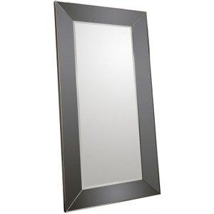 Gallery Direct Vasto Euro Grey Leaner Rectangular Mirror - 91.5cm X 183cm, Euro Grey