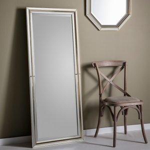 Gallery Direct Vogue Leaner Rectangular Mirror - Gold 62.5cm X 151.5cm, Gold