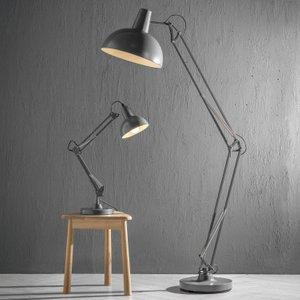 Gallery Direct Watson Grey Floor Lamp, Grey