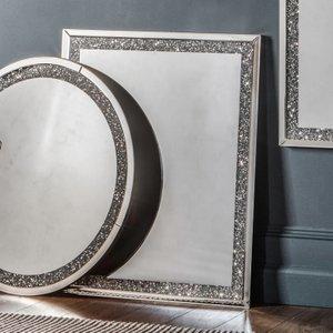 Gallery Direct Westmoore Silver Rectangular Mirror - 60cm X 90cm, Silver