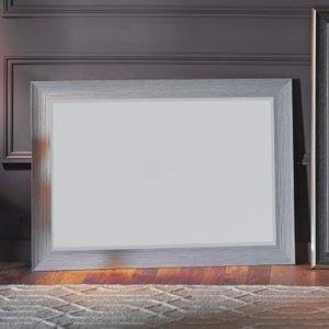 Gallery Direct Willis Rustic Grey Rectangular Mirror - 50cm X 60cm, Rustic Grey