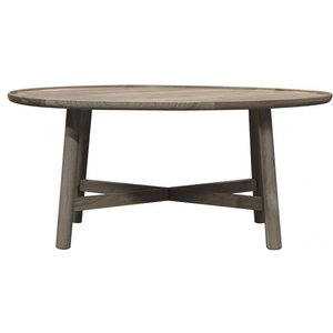 Gallery Direct Gallery Kingham Grey Round Coffee Table